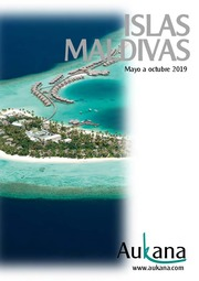 Aukana Maldivas  Hasta Octubre 2019